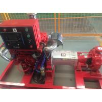 Buy cheap Electrical motor Driver 400GPM@125PSI UL/FM End Suction Fire Fighting Pump sets from wholesalers