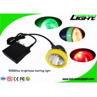 China Strong brightness With 4 colors hunting lighting 3w LED Mining Headlamp night on sale