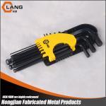 9pcs black oxide long type ball end allen key wrench set Manufactures