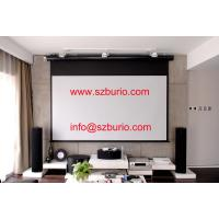 China Motorized/Electric Glass Beaded Projection Screen Projector Screen on sale