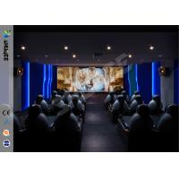 Theme Park Party Gaming Interactive 7D Movie Theater For Business Manufactures