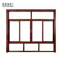 Thermal Break Aluminum Sliding Glass Windows For Residential Silicone Sealant Seal Manufactures