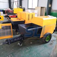 Automatic Electric Power Concrete Wall Plastering Machine Gypsum Putty Sprayer Manufactures