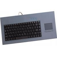 China Hygienic 103 Keys Multimedia Industrial Small USB Keyboard With Touchpad on sale