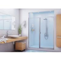 Various Size Bathtub Shower Glass With Tempered / Laminated Processing Manufactures