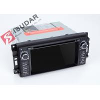 Quality GPS Navigation Radio Jeep Car Stereo Multimedia Player System With Rear Viewing Function for sale