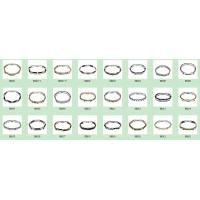 China Mens forza stainless steel bracelets,Different plated color, Customized Logo avialable on sale