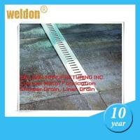Kitchen decorative channel shower drain custom  300mm to 2000mm shower pan drain Manufactures