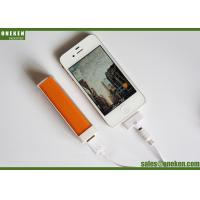 Pocket Lipstick 18650 Power Bank For Smartphones / Mobile Phone Portable Charger Manufactures