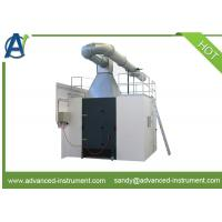 China EN 13823 Single Burning Item Test of Heat Release Rate and Smoke Release Rate on sale