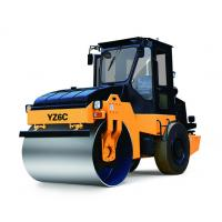 China 42 Kw Road Construction Equipment , Super 6 Ton YZ6C Closely Road Shoulder Compactor Single Drum Vibratory Roller on sale
