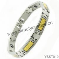 Magnetic 316L Stainless Steel Bracelet Manufactures