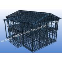 Pre-engineered Stabl Structure Light Steel Villa with Glass Curtain Wall for Showroom Manufactures
