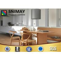 White Painting Solid Wood Hanging Kitchen Wall Cabinets Furniture For Dining Room Manufactures