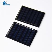 Quality 0.15W Silicon Solar PV Module ZW-4030 Durable Mono Solar Photovoltaic Panels 3V for sale