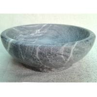 Marble Stone Serving Bowl High Durability Keeping Fruit / Food Cool Fresh Manufactures