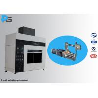 China 45 Degree Tilted Needle Flame Test Apparatus Fire Hazard Protection Testing Equipment IEC60695 on sale
