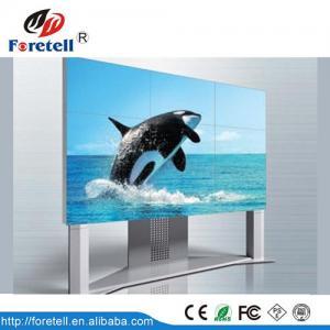 Quality 46 Inch HD HDMI 3.9mm samsung LCD Video Wall Display 500lm brightness for sale