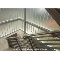 Low Iron Tempered U Shaped Glass 262(W)X60(H)X7(T) Mm Dimension Building Material