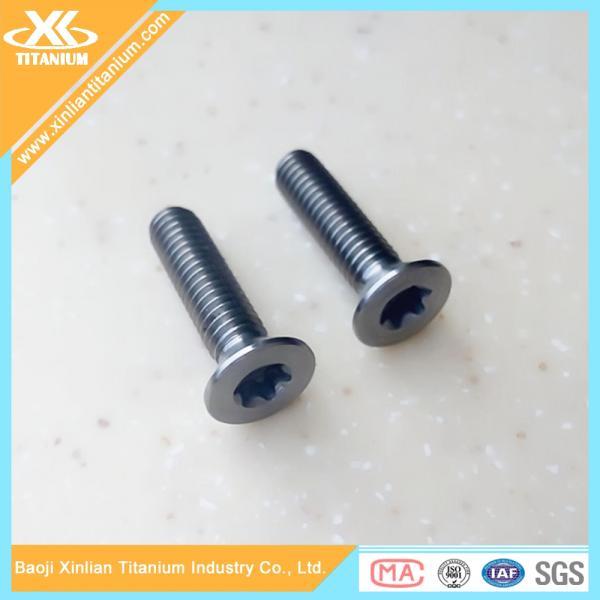 Quality High Quality and Best Price Metric Gr5 Titanium Torx Flat Head Screws for sale