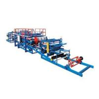 Continuous Sandwich Panel Roll Forming Machine For Roof Or Wall Plate Making Manufactures