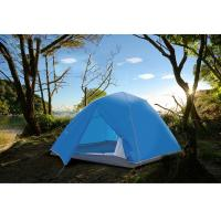 China 3 to 4 person double layer double door outdoor waterproof automatic pop up camping tent on sale