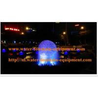 China Crystal Ball Fountain With Atomizer RGB LED Light Has Misting And Colorful on sale