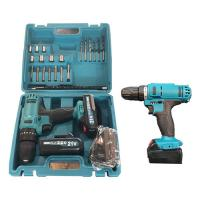32Nm 21V Cordless Drill Tool Set 30min Fast Charger 2 Batteries 2000mAh Capacity Manufactures