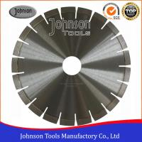 Silver Brazed Diamond Stone Cutting Disc , Dry Cut Saw Blade 300-1600mm  Manufactures