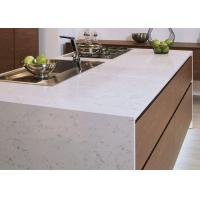 Luxury Kitchen Natural Quartz Countertops With Sinks Common Sizes Manufactures