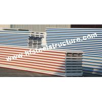 China EPS / PU Metal Roofing Sheets With Color Steel Sandwich Panel on sale