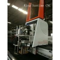 Auto T - Shirt Fabric Cloth Garment Cutting Machine With Straight Knife Manufactures