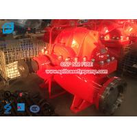 Firefighting Use Diesel Engine Driven Fire Pump Set , Horizontal Nfpa Pump Manufactures
