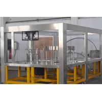 1200BPh High Speed 5 Gallon Water Filling Machine Line for Plastic Barrel / Jar Manufactures