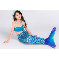 China Customized Design Children's Swimming Mermaid Tail Blue Purple Color on sale