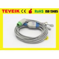 China Integrated Biolight 5 leads ECG Cable for Patient Monitor, Snap / AHA connector on sale