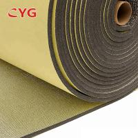 Self Adhesive Construction Heat Insulation Foam With Aluminium Foil One Side Manufactures