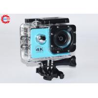 Blue Full HD Sport Camera Waterproof 4k Manufactures