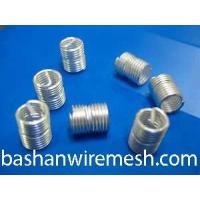 304 stainless steel silver wire thread inserts by xinxiang bashan Manufactures