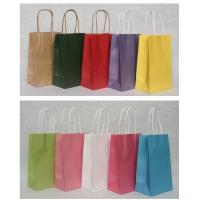 China Promotional Customized corporate Paper Kraft Carrier Bag Printing with OEM/ ODM Available on sale