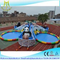 China Hansel popular inflatable pool rental for pool party on sale
