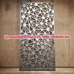 Quality 2015 Hot Sale Laser Cut Steel Panel for sale