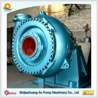 Centrifugal dredging sand pump with gear box Manufactures