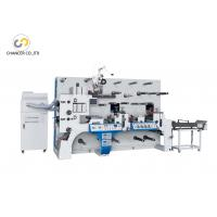 Automatic two station rotary label die cutting flexo printing machine Manufactures