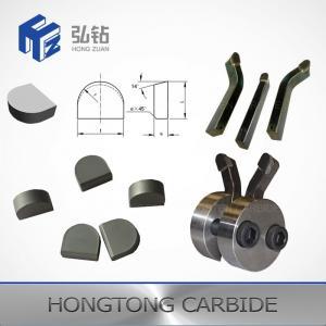Wear Resistance Tungsten Carbide Products , Tungsten Carbide Stump Claw Teeth Manufactures