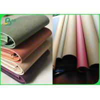 China Germany Quality Kraft Paper Fabric Colorful Tear Resistant Paper 0.55mm on sale