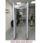 LED Body Metal Detectors 6 Zones , Door Metal Detector For Security Checking Manufactures