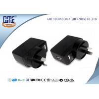 6v 0.5a Universal Travel Adapter , Australia Plug Adapter For Glucose Meter Manufactures