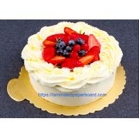 Aluminium Foil Laminated Cake Board For Food Packaging/Gift Cases Manufactures