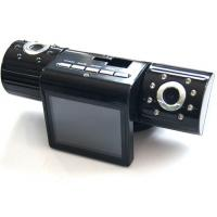 China IR Night Vision 5 Mega Pixel Dual Camera Car DVR , Dual Lens Rotative , Cycling Records on sale